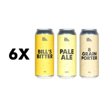 6x MIXED PACK 500ml